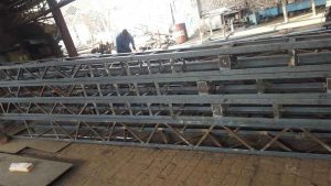 Overheal Line Towers poles for wapda lines hot dip galvanized angle channels