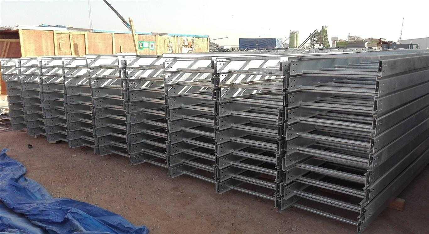 Cable Tray Ladder Perforated Mesh hot dip galvanized GI Powder Coated