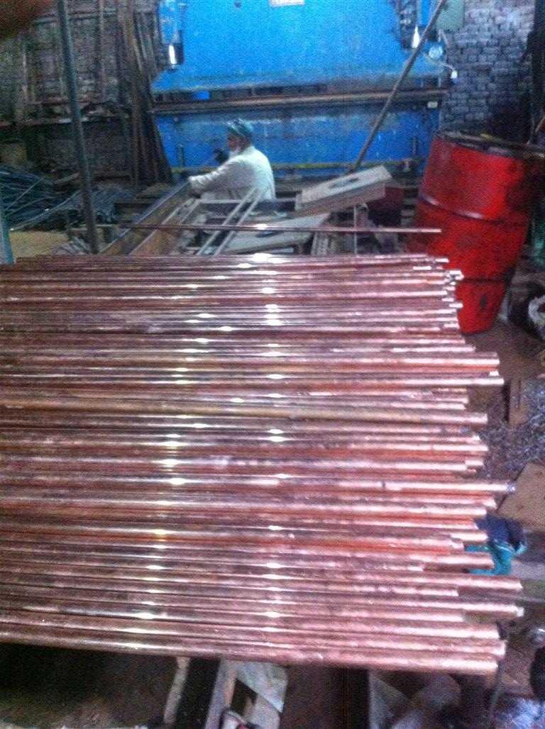 copper rodsr Earth
