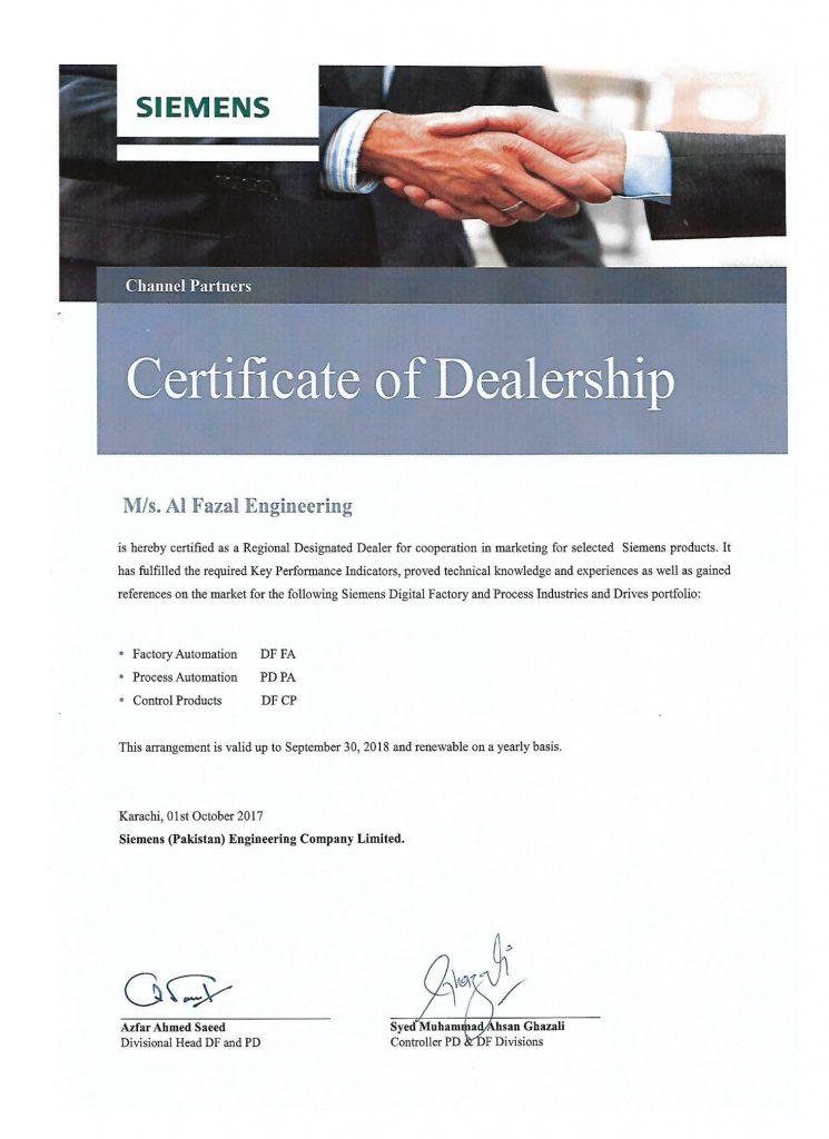 Al Fazal Engineering Is An Authorised Dealer Of Siemens Low Voltage