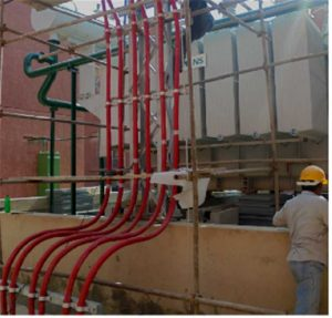 MV HV Transformer cable and fire fighting support arrangement supply and services