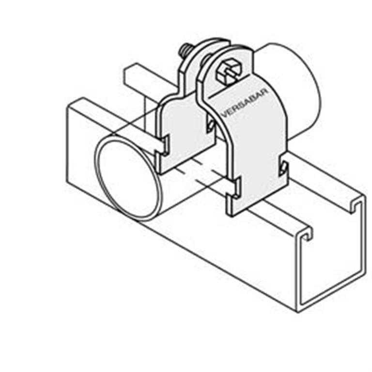Unistrut Channel Conduit Pipe uni-strut Clamps
